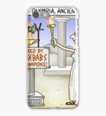 Greek Olympics iPhone Case/Skin