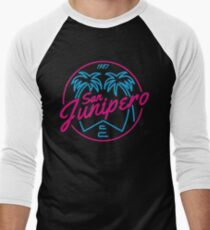 Black Mirror San Junipero NEON Men's Baseball ¾ T-Shirt