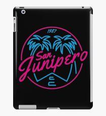 Black Mirror San Junipero NEON iPad Case/Skin
