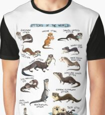 Otters of the World Graphic T-Shirt