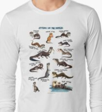 Otters of the World Long Sleeve T-Shirt