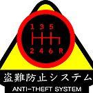 JDM - Anti-Theft System (Pattern 3) (dark) by ShopGirl91706