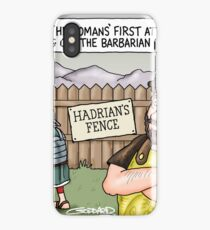 Hadrian's Fence iPhone Case/Skin