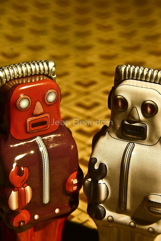 Tin Toys by Jean Beaudoin