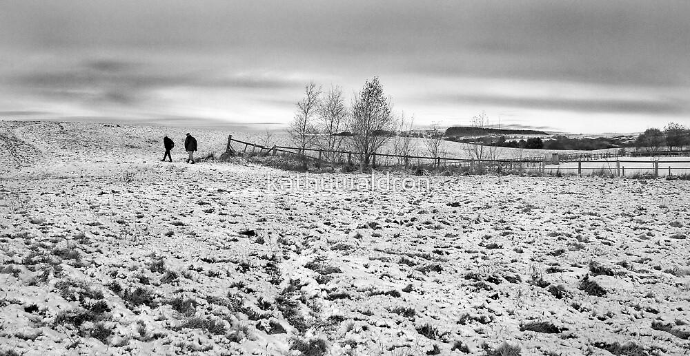 winter stroll by kathywaldron