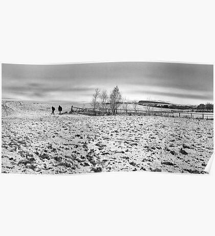 winter stroll Poster