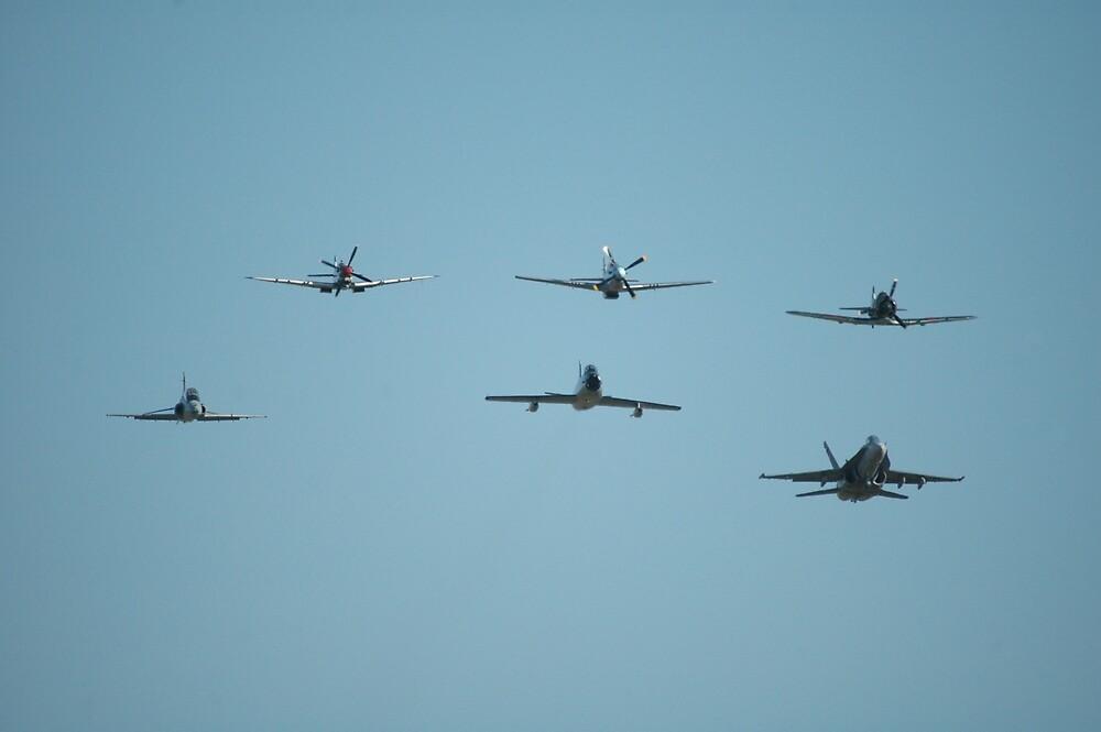 Fighter Formation, RAAF Williamtown,Australia 2010 by muz2142