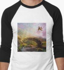 Highlands  Men's Baseball ¾ T-Shirt