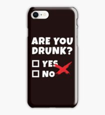 Funny Beer Drinking, Bar Party Humor Gag Gift  iPhone Case/Skin