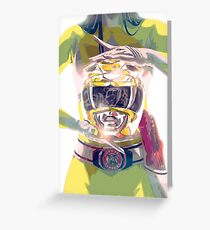 Yellow Ranger - Power Rangers Greeting Card