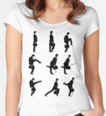 Ministry of Silly Walks Women's Fitted Scoop T-Shirt