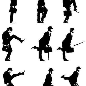 Ministry of Silly Walks by UberPenguin