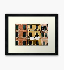Wash Day. Framed Print