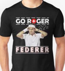 Roger Federer Go Unisex T-Shirt