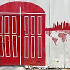 Red Door by Christine  Wilson