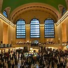 Grand Central Station by Christine  Wilson