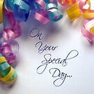 Your Special Day by Suni Pruett