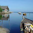 fishing lake by kathywaldron