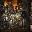 Steampunk - The Turret Computer  by Michael Savad