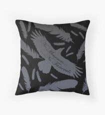 No Mourners, No funerals Throw Pillow