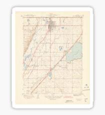 USGS TOPO Map Colorado CO Brighton 402531 1944 31680 Sticker