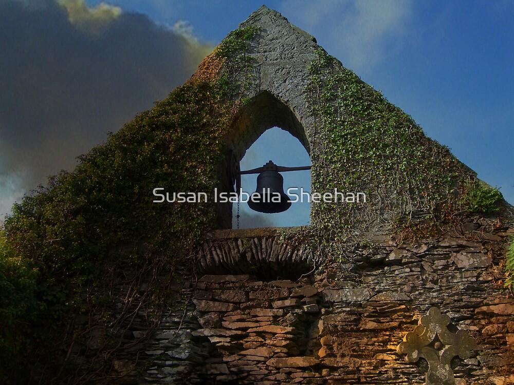 The Belfry At Old Duleek Graveyard by Susan Isabella  Sheehan