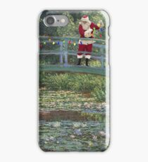 The Japanese Bridge At Christmas Time iPhone Case/Skin
