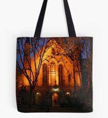 Church at Night Tote Bag
