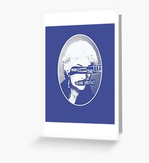 God Save the Bea (White) Greeting Card