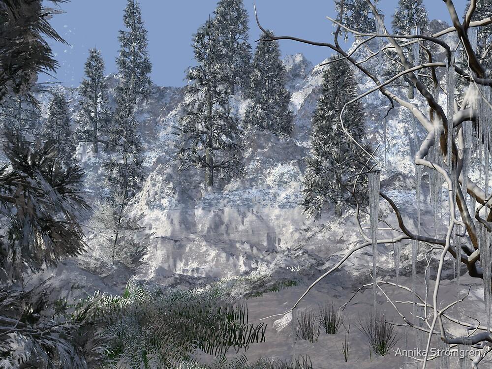 Winter scenery by Annika Strömgren