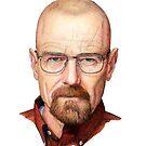 Walter White Heisenberg by lpodraw