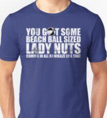 Beach Ball Sized Lady Nuts Unisex T-Shirt
