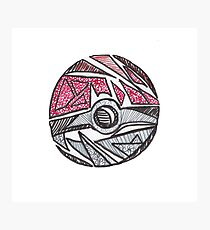 Abstract Ball Photographic Print