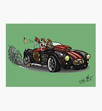 Steampunk Cobra (Green) Photographic Print
