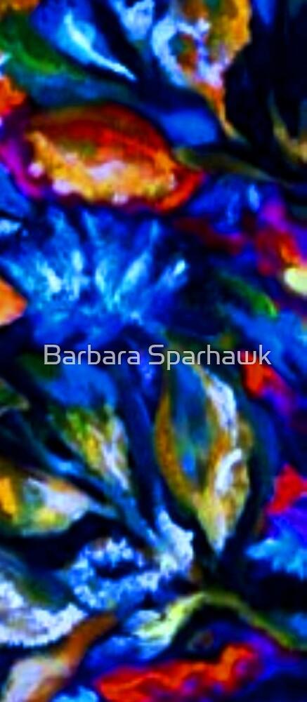 Wild Things, Inside the Garden IV by Barbara Sparhawk