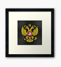 Russia Coat of Arms Framed Print