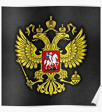 Russia Coat of Arms Poster