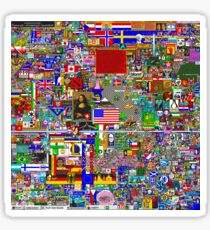 r/place Early April 3rd Sticker