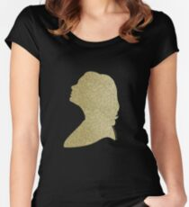 Adele   Gold 2.0 Women's Fitted Scoop T-Shirt