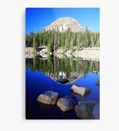 Pass Lake Metal Print