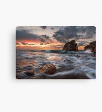 Shades at sunset Canvas Print