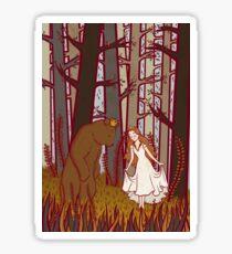 The Bear and the Maiden Fair Sticker