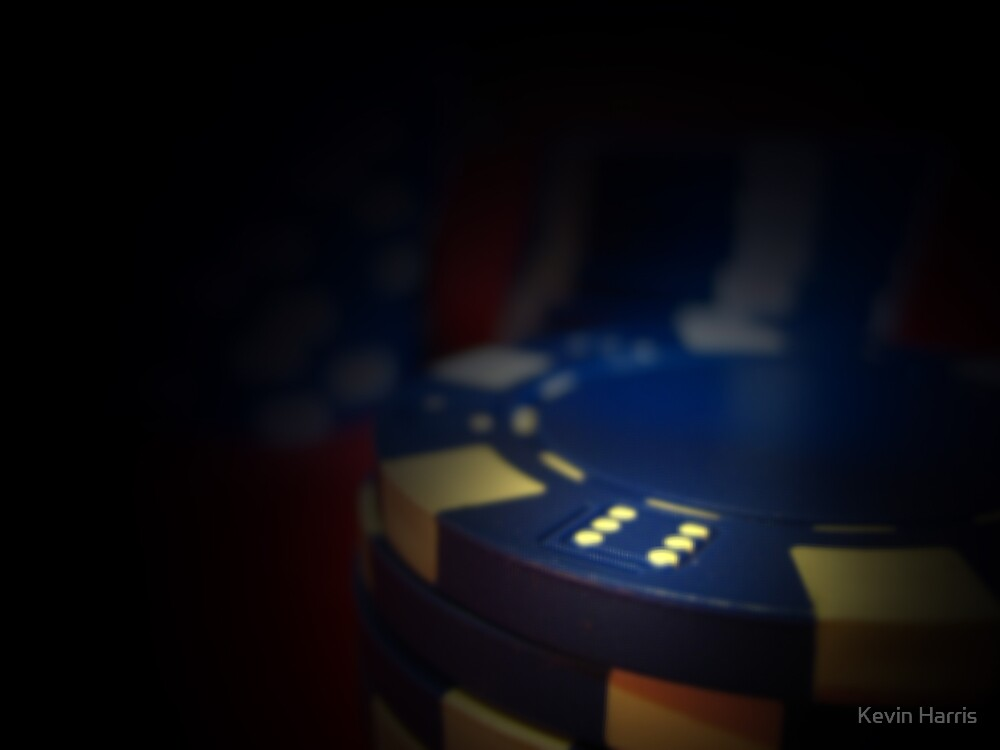 poker chips 3 by Kevin Harris