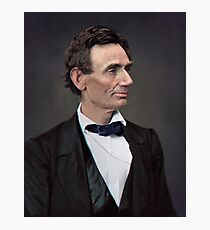 Abraham Lincoln, circa 1863 Photographic Print
