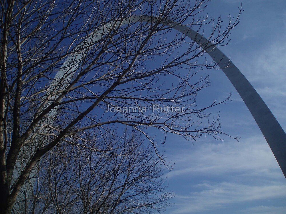 arch and trees by Johanna  Rutter