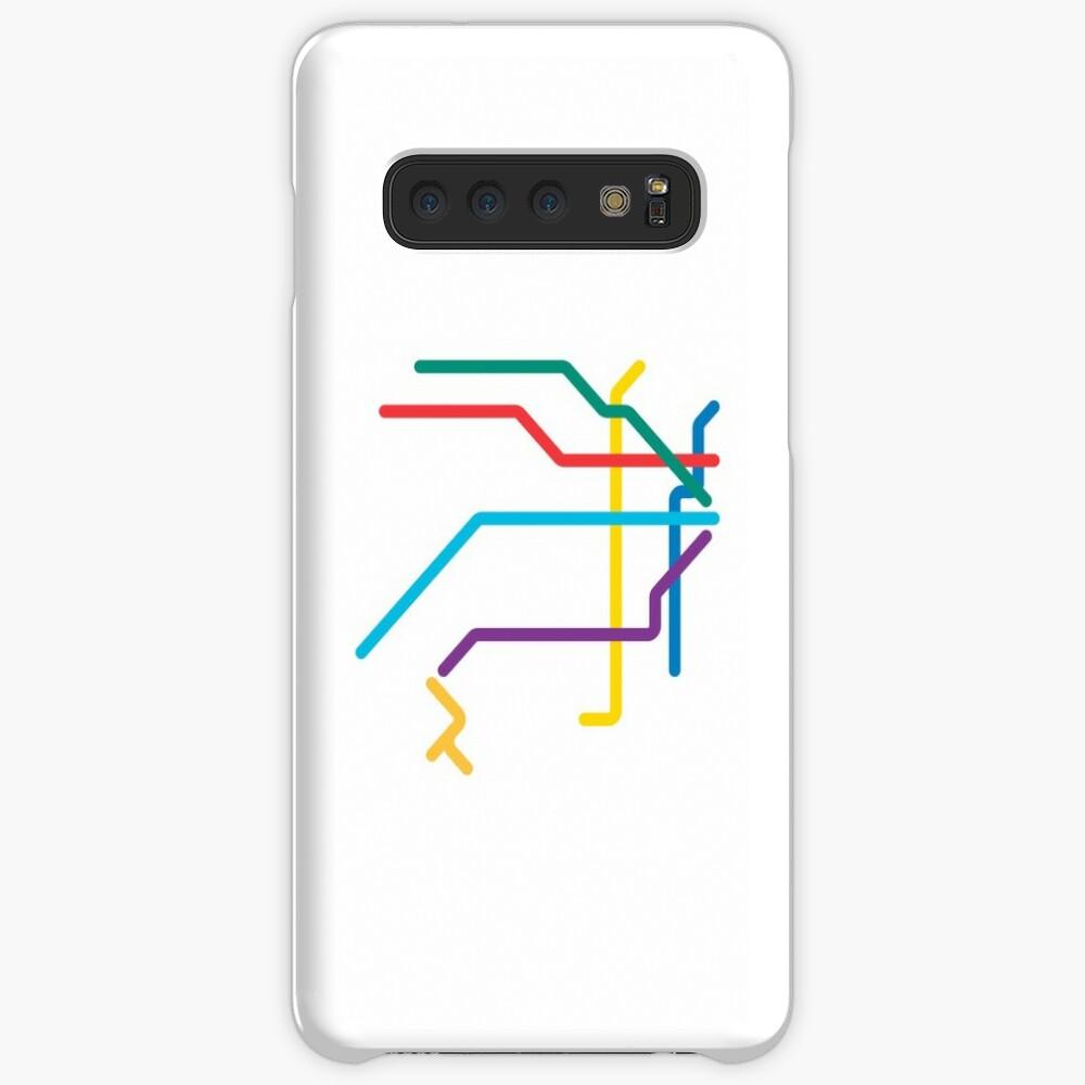 Mini Metros - Buenos Aires, Argentine Coque rigide Samsung Galaxy