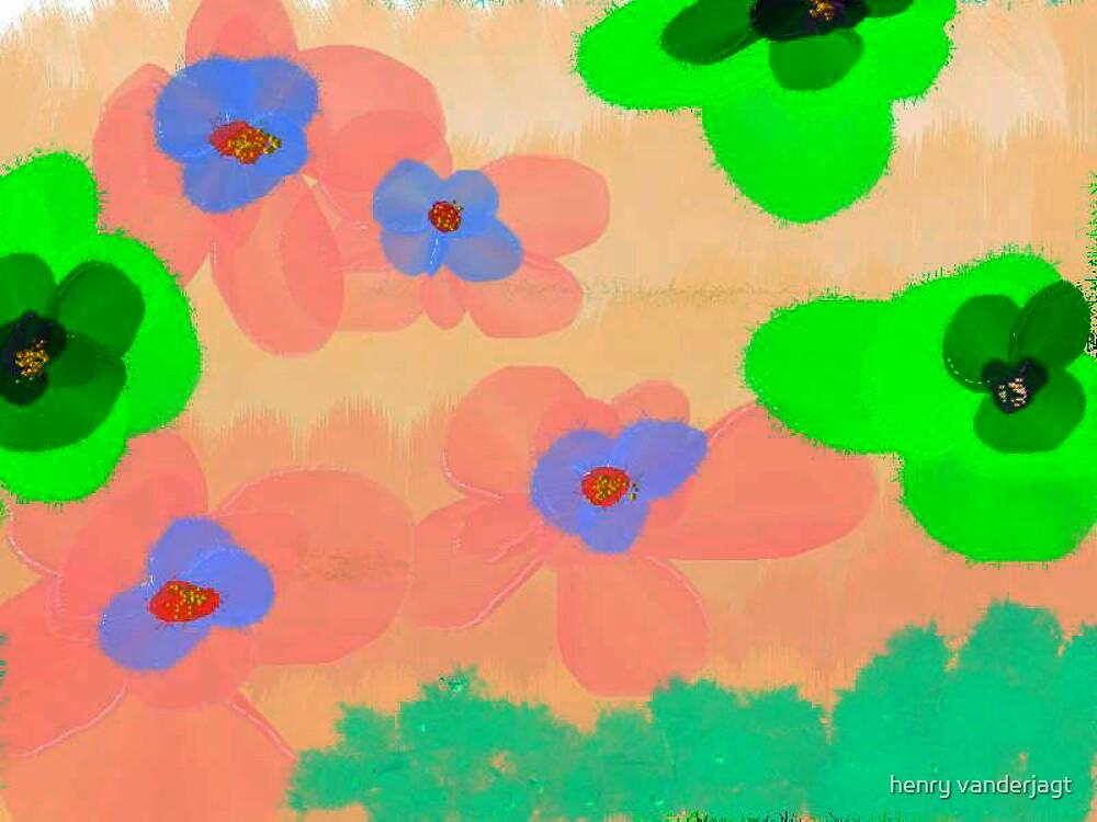 FLOWERS by Henry VanderJagt