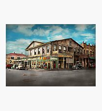 City - Victoria TX - The old Rupley Hotel 1931 Photographic Print