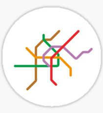 Mini Metros - Vienna, Austria Sticker