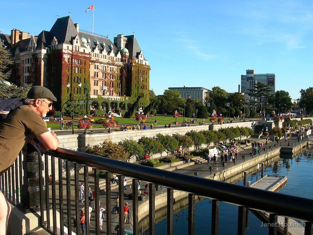 Victoria, BC, Canada by Janet Houlihan
